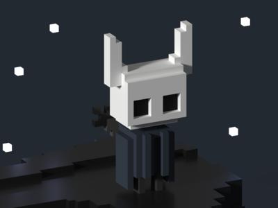 Hollow Knight - Voxel Fan Art