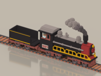Old Aged Steam Train
