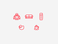 Lazy Day Icons