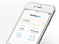 Booking.com iPhone app 1.1