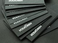 Volkoren business cards