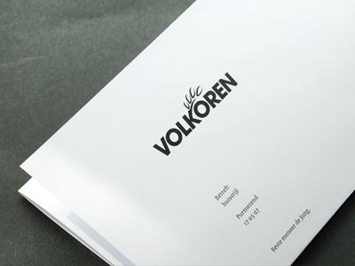 Volkoren letter paper