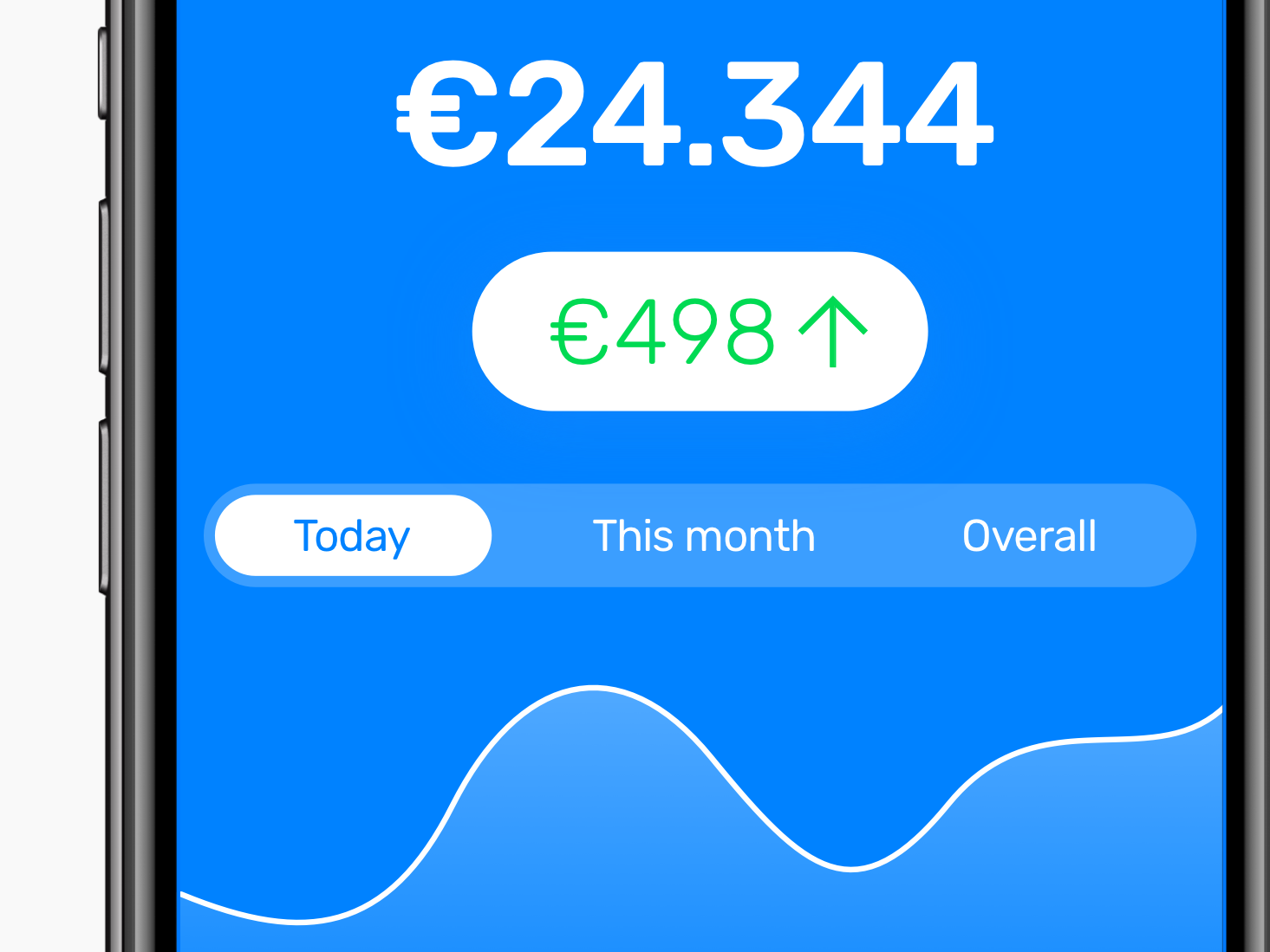 Graph design for iOS graph money stocks iphone interface redesign ui ios apple app