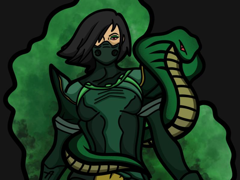 Viper from Valorant!