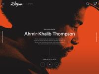 Zildjian Artist Landing Page