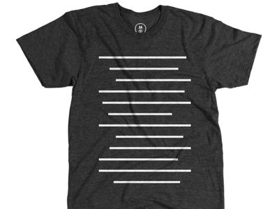 Robbie Kanner: Lines lines shirt illustration robbie kanner cotton bureau shirt design