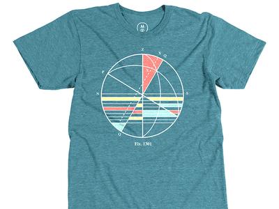 Dane Horvath: Nautical Map nautical map tee shirt designt-shirt illustration cotton bureau