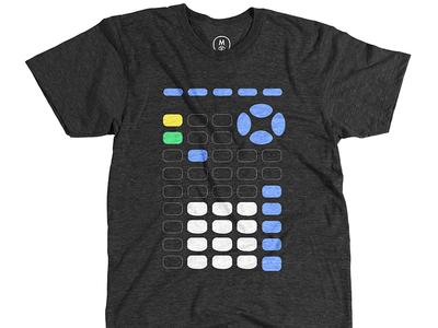 Jonathan Bobrow: Highschool Friend calculator illustration tee cotton bureau jonathan bobrow shirt design