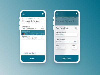 DailyUIChallenge02  — Credit Card
