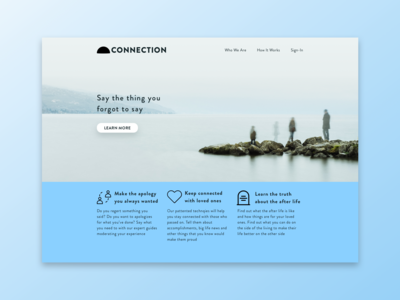 DailyUIChallenge03 — Landing Page