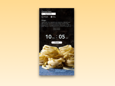 Daily UI Challenge 014 — Countdown Timer