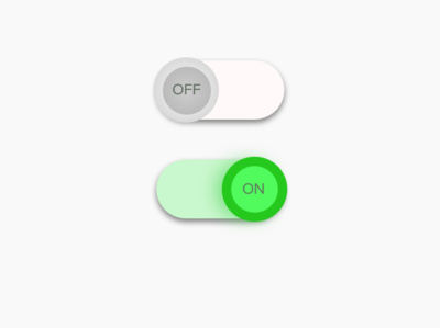 Daily UI Challenge 015 - On/Off Switch