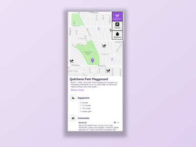 Daily UI Challenge 020 — Location Tracker