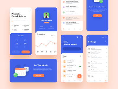 Todo App Design ios illustration todo ui management app icon illustrations event dashboard app