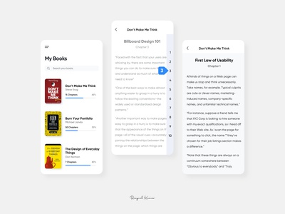 Book App UI abstract casestudy mobile app design mobile ux mobile app app ui microinteraction design