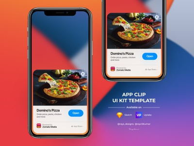 App clip - Apple iOS 14 ios uikit mobile casestudy mobile app design ux mobile app ui app microinteraction design