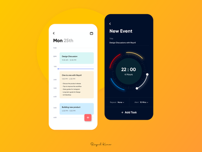 Event app UI animation mobile casestudy mobile app design ux ui mobile app app microinteraction design