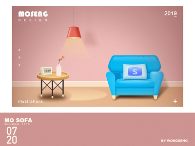 MO SOFA illustration