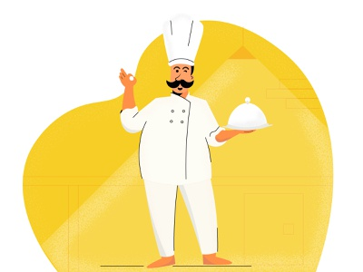 Its a chef thing!!! chef hat food restaurant chef art ui sketching illustration art illustration design character illustration character adobe illustrator