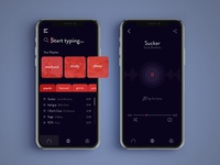 Music Streaming App Concept Design