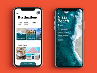 Places to See | UI Design