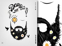 Make Beards Not War Typo Edition 800x600 Dribbble