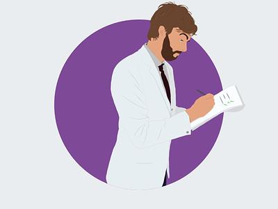 Me as a scientist user test ux design scientist illustration