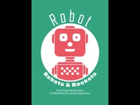 Robots and Rockets Card Game - Robot