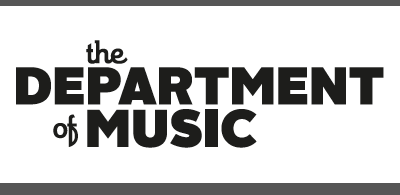 The Department of Music logo alright sans theorem