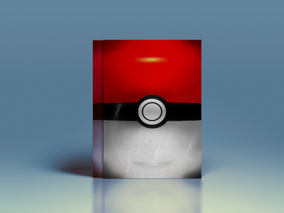 Pokeball Illustrated Poster