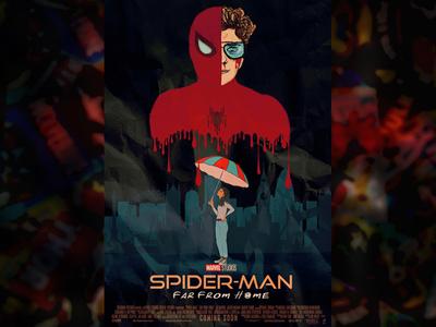 Spiderman Far From Home Alternate Poster
