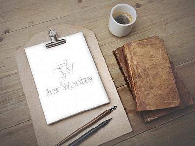 Joe WooleyFull Logo Sketch creative free relax enjoy fun new brand company business note voice sound music art vector startup minimal logo design branding