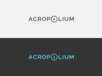 "Redesign Logo for ""ACROPOLIUM"": Feedback Please"