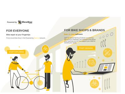 Illustration for Bikeshop software