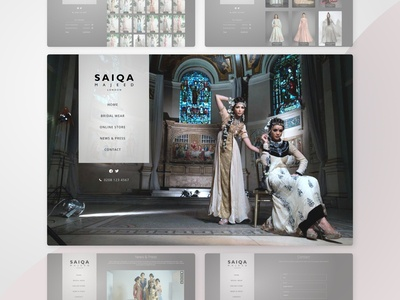Luxury Designer Fashion (May '13) | Web Design | GPHX Designs