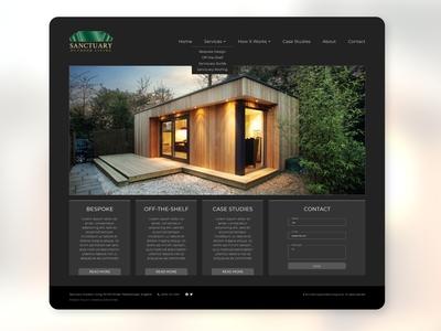 Sanctuary Outdoor Living (Jul '14) | Web Design | GPHX Designs