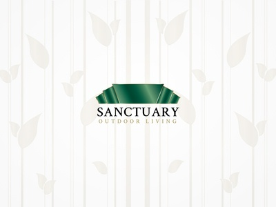 Sanctuary Outdoor Living Logo (Feb '14) | GPHX Designs