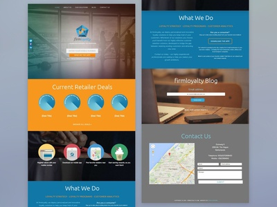 FirmLoyalty Website (Oct '14) | Web Design | GPHX Designs