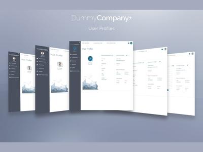 User Profile & Account | DummyCompany+
