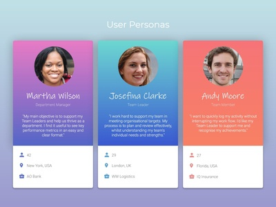 User Personas | DummyCompany+