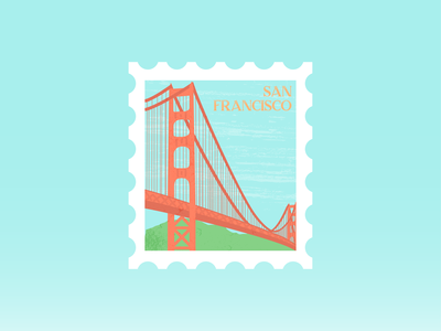 WWU | San Francisco Stamp