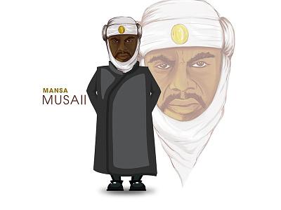 Mansa Musa photoshop adobe
