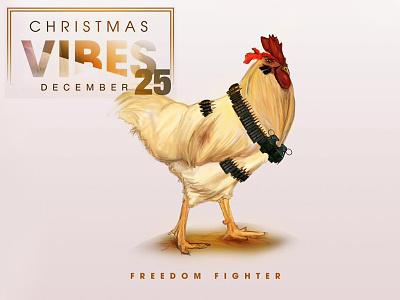 Christmas Vibes photoshop illustration adobe