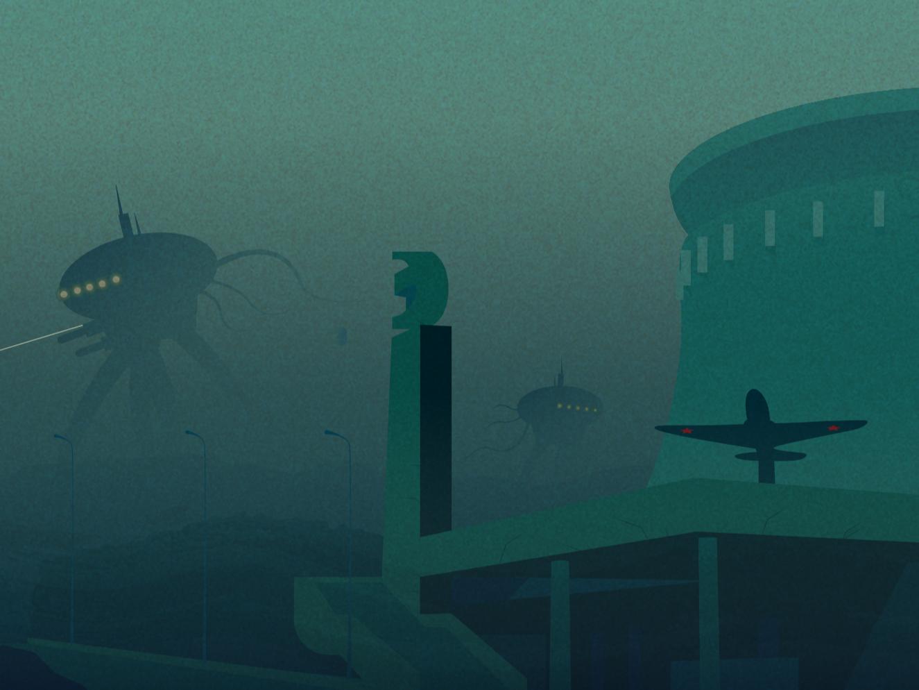 District 34 futuristic apocalypse future vector art illustrations artwork vector illustration vector illustrator illustration art illustration