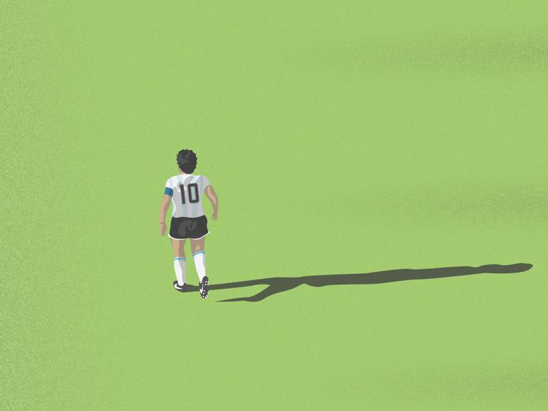 After Diego Maradona movie soccer football sport illustrator ai vector vectorillustration illustrationvector illustration