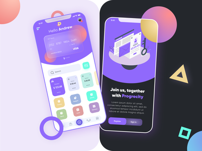 Mobile application design for the company. webdesigner finans financial ux ui awesome design abstract figma dribbble design awesome
