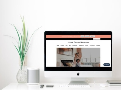 Home Goods Network | Website Design