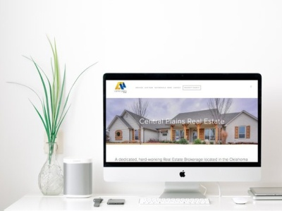 Central Plains Real Estate | Website Design