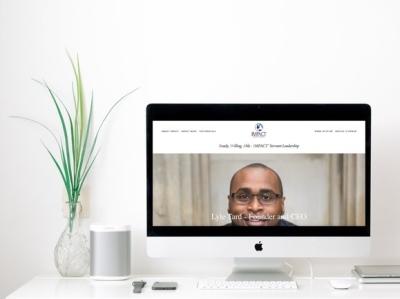 Impact Servant Leadership   Website Design