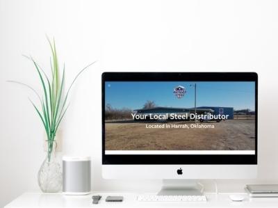 Patriot Steel   Website Design